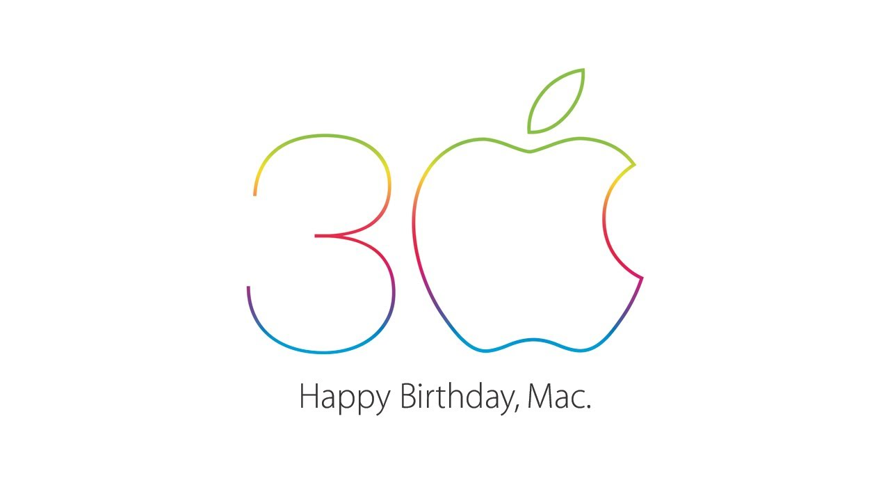 Apple – Mac 30 – Thirty years of innovation