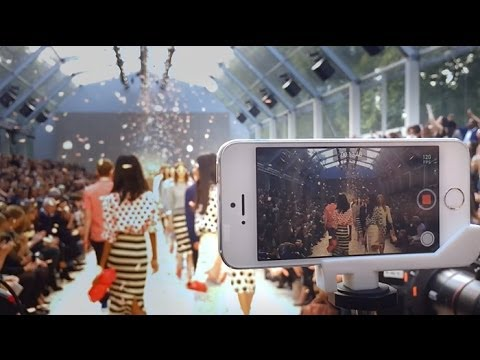 Apple – On the runway with iPhone 5s